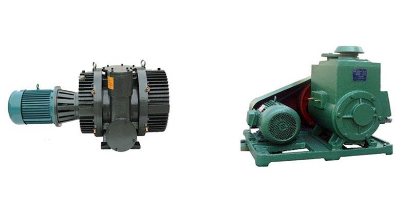 Roots pump,2X rotary vane vacuum pump